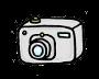 カメラのイラスト素材1